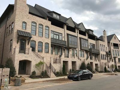 Fulton County Condo/Townhouse New: 6649 Cadence Blvd