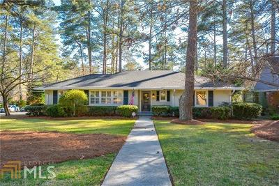 Decatur Single Family Home For Sale: 2275 Tanglewood Rd