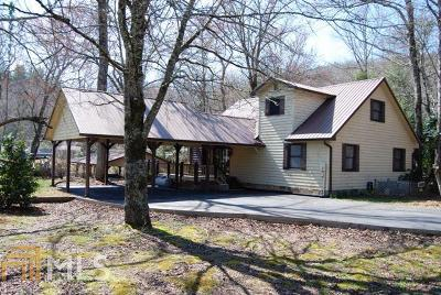 Rabun County Single Family Home New: 132 Seabrook Ln