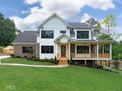 Dunwoody Single Family Home New: Lakesprings Dr #1