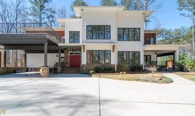 Suwanee Single Family Home New: 390 Taylor Rd