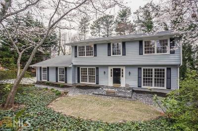 Atlanta Single Family Home New: 2094 Mount Vernon
