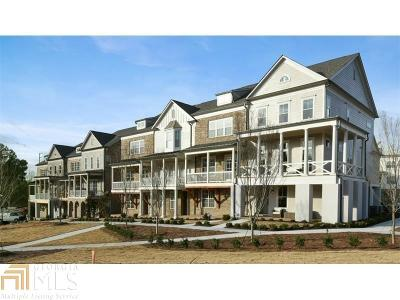 Marietta Condo/Townhouse Under Contract: 210 Haverstock Ct #49