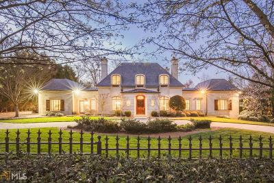 Buckhead Single Family Home For Sale: 1401 Mt Paran Rd