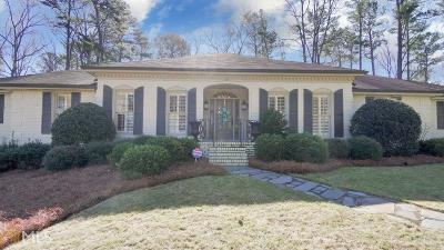 Fulton County Single Family Home New: 6345 River Overlook Drive