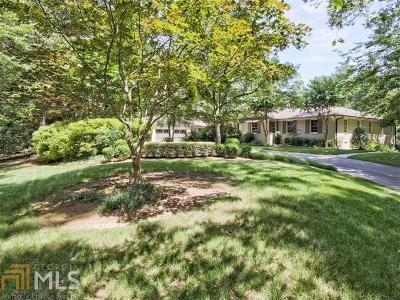 Fulton County Single Family Home New: 539 W W Paces Ferry Road