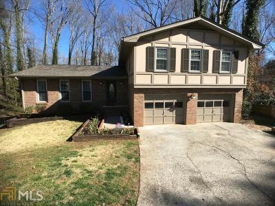 Roswell Single Family Home New: 3128 Mountain Creek Circle NE