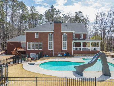Kennesaw Single Family Home For Sale: 4512 Hadaway Rd
