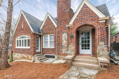 Atlanta Single Family Home New: 469 Claire Drive