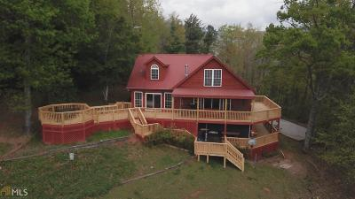 Sautee Nacoochee Single Family Home For Sale: 393 Chimney View Rd