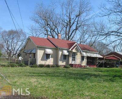 Elberton GA Single Family Home New: $62,000