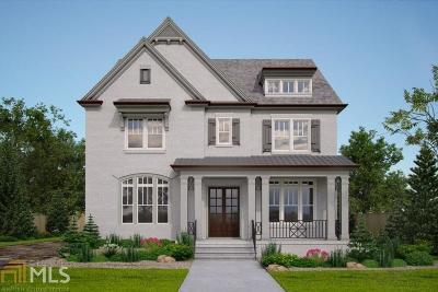 Fulton County Single Family Home New: 251 Chastain Park Drive NE