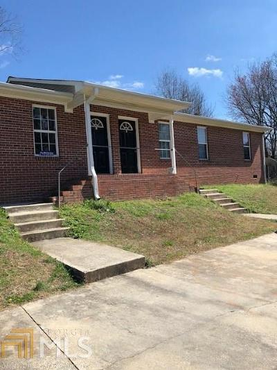 Haralson County Multi Family Home For Sale: 280 Atlantic Ave