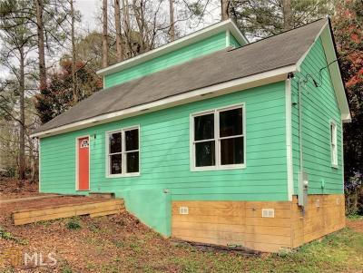 Fulton County Single Family Home New: 2505 Stone Road