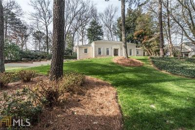 Atlanta Single Family Home New: 2930 Margaret Mitchell Ct