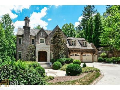 Atlanta Single Family Home New: 979 Crest Valley Drive