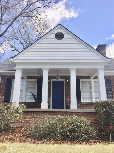 Peachtree Hills Single Family Home For Sale: 2233 Edison Ave