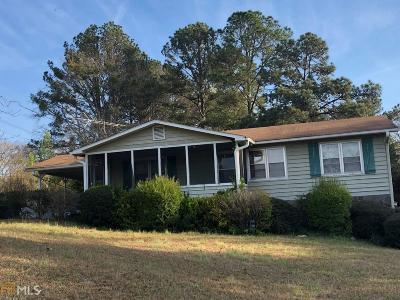 Jasper County Single Family Home Under Contract: 56 Ga Hwy 212 W