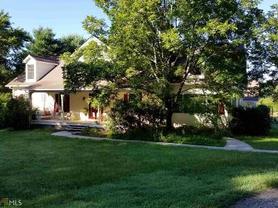 Clarkesville Single Family Home For Sale: 1295 Wall Bridge Loop