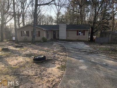 Douglasville Single Family Home Under Contract: 5579 Mountain Park Way