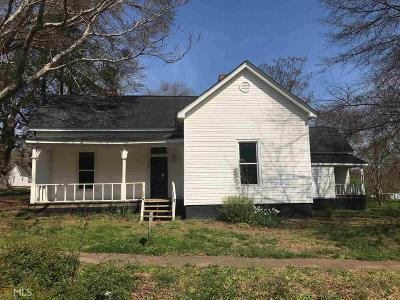 Social Circle GA Single Family Home Back On Market: $129,900