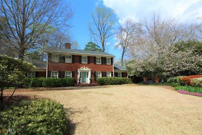 Newnan Single Family Home For Sale: 10 Sherwood Dr