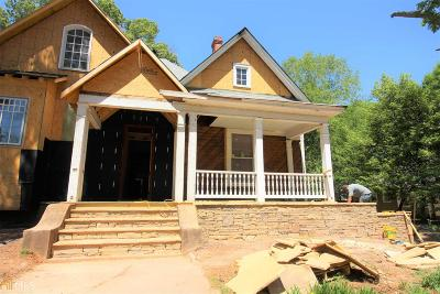 Newnan Single Family Home For Sale: 124 E Broad St