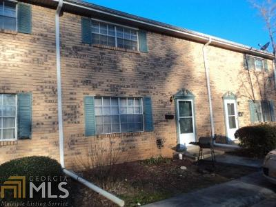 Fulton County Condo/Townhouse For Sale: 4701 Flat Shoals Rd #16E