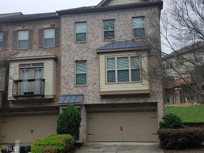 Suwanee Condo/Townhouse For Sale: 2912 Camplay