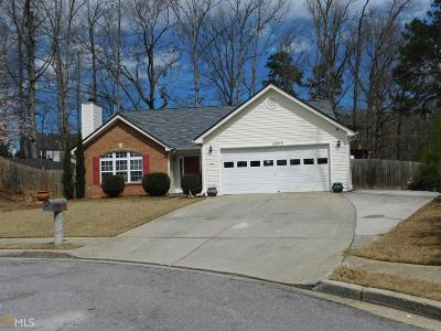 Dacula Single Family Home New: 2605 Fort Apachee Trl