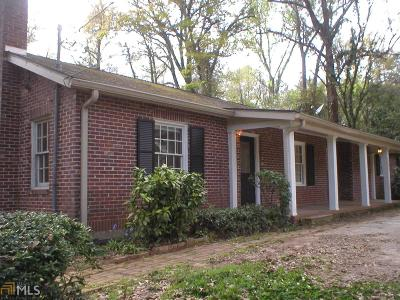 Buckhead, Eatonton, Milledgeville Single Family Home New: 609 N Jefferson Ave