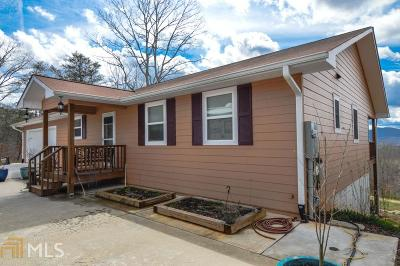 Towns County Single Family Home For Sale: 4940 Hall Rd