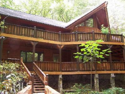 Rabun County Single Family Home Under Contract: 430 Covered Bridge Dr
