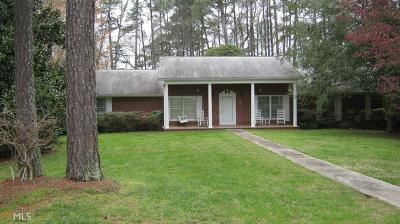 Hoschton Single Family Home For Sale: 300 Peachtree Rd