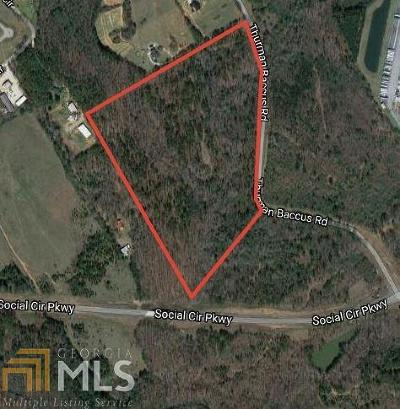 Social Circle Residential Lots & Land For Sale: Thurman Baccus Rd #Tract 3