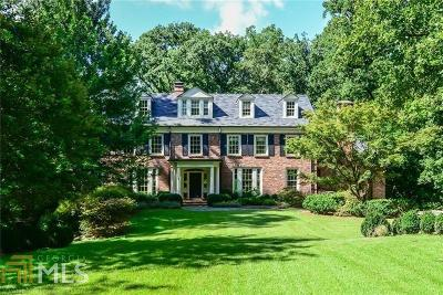 Buckhead Single Family Home For Sale: 1442 W Wesley Rd