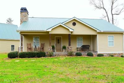 Monticello Single Family Home For Sale: 21600 N Ga Hwy 11