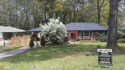 Dekalb County Single Family Home For Sale: 1756 Briarlake Cir