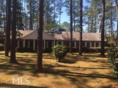 Statesboro Single Family Home For Sale: 208 Aldred Hills Rd