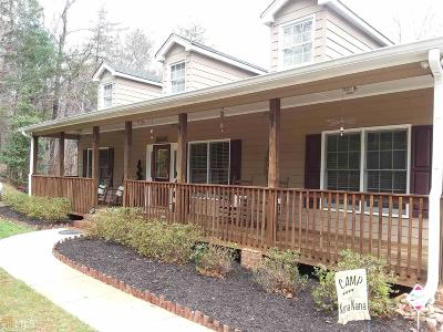 Dahlonega Single Family Home For Sale: 829 High Shoals