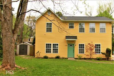 Single Family Home For Sale: 1200 Beechview Dr