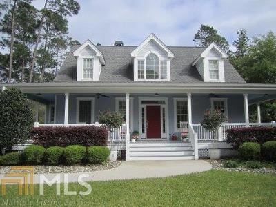 St. Marys Single Family Home For Sale: 103 Spartina Ct