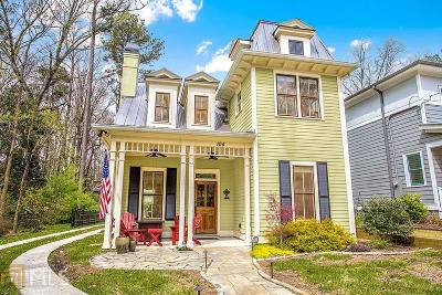 Decatur Single Family Home For Sale: 104 Fairview St