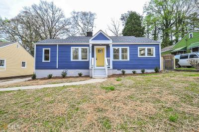 Hapeville Single Family Home For Sale: 308 Maple St