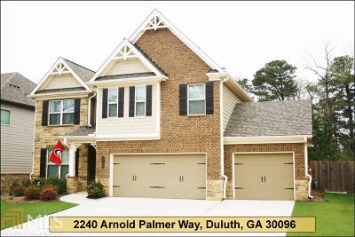 Duluth Single Family Home For Sale: 2240 Arnold Palmer Way