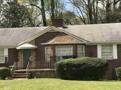 Mozley Park Single Family Home Under Contract: 267 Chicamauga Ave