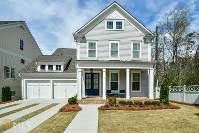 Roswell Single Family Home For Sale: 1010 Crossvine Rd