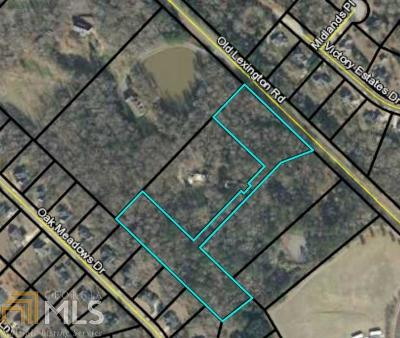 Athens GA Residential Lots & Land For Sale: $45,000