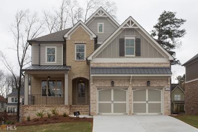 Alpharetta Single Family Home For Sale: 12045 Castleton Ct #Lot 13