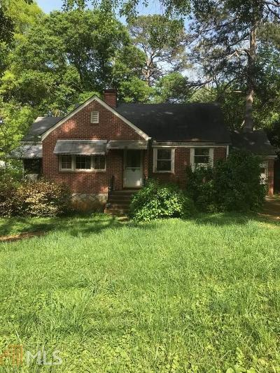 Dekalb County Single Family Home For Sale: 1022 S McDonough St